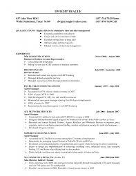 Cover Letter Telecom Resume Samples Telecom Resume Examples