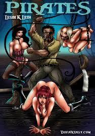 Bondage Pirate Lesbian