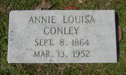 Annie Louisa Conley (1864-1952) - Find A Grave Memorial