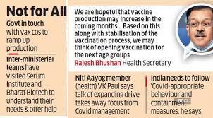 covid vaccine age limit in india