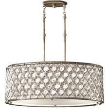 lucia lighting pendant ceiling light mid century. Feiss Lucia 3 Light Burnished Silver Oval Drum Crystal Pendant Lucia Lighting Pendant Ceiling Light Mid Century