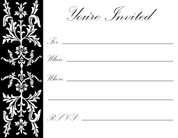 Free Printable Birthday Party Invitations For Adults And