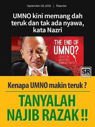 Image result for Gambar Umno karam