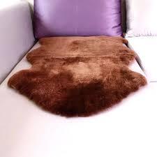 brown sheepskin rug sheepskin rug single sheared sheep skin rug rug for living room brown sheepskin brown sheepskin rug