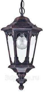 <b>Maytoni Oxford S101</b>-<b>10</b>-<b>41</b>-<b>B</b> уличный <b>светильник</b> подвесной ...