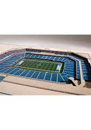 detroit lions 5 layer 3d stadium view wall art