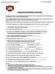Rental References Form Rental References Form Rome Fontanacountryinn Com