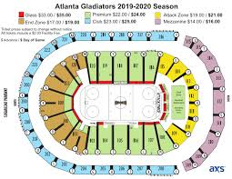 Atlanta Gladiators Infinite Energy Center