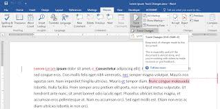 micresoft word using track changes in microsoft word for editing and review oxen