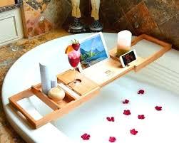 tub tray caddy bath tub bath tray wood bathtub wood by chrome bath clawfoot tub caddy