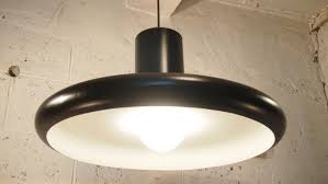 french industrial lighting. midcentury black industrial french pendant ceiling light from lita 1960 3 lighting a