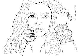 Celebrity Coloring Pages Lezincnyccom