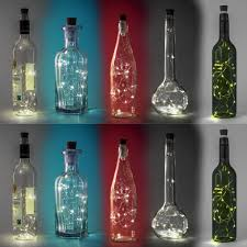Usb Rechargeable Bottle Lights Us 4 85 28 Off 15 Leds Rechargeable Copper Wire String Light Usb Wine Bottle Lamp Party Decor In Lighting Strings From Lights Lighting On