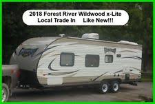 Used barefoot caravan for sale Retro 2018 Forest River Wildwood Xlite Travel Trailer Bumper Pull Camper Used Towable Parkdean Resorts Camper Trailer Ebay