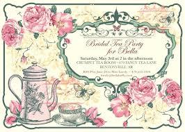 tea party templates vintage tea party invitation templates free template the big 1 0