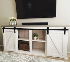 do it yourself furniture projects. Sliding Door Console | Do It Yourself Home Projects From Ana White Furniture