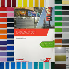 Oracal 651 Color Chart Oracal 651 Color Fan Colour Patterns Chart Booklet Folder For Films Cutters