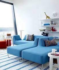 contemporary scandinavian furniture. Awesome Contemporary Scandinavian Furniture Blue White Color Interior