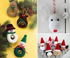 Free Crochet Christmas Ornament Patterns Extraordinary Crochet Christmas Ornaments Patterns The WHOot