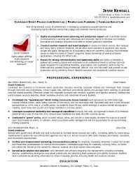 Music Producer Resume Examples Music Producer Resume Examples