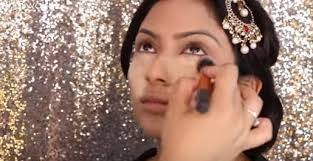 indian bridal face makeup tutorial video