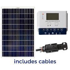 100 watt off grid solar panel kit