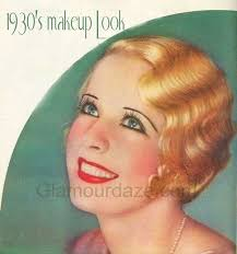 the history of 1930s makeup