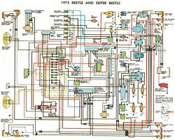 wiring diagrams galleries 1972 beetle and super beetle wiring diagrams