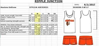 Details About Ripple Junction Hooters Hooters Girl Outfit Costume
