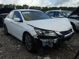 honda accord 2014 white.  Honda 2014 HONDA ACCORD SPO  Left Front View Lot 44771258 And Honda Accord White 0