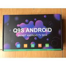 Chỉ 431,298đ Đầu Android Tivi Box Q9s - 02 Anten chuẩn - tivi thông minh