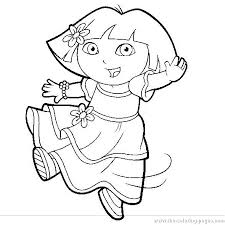 Dora Coloring Pages Dora Coloring Pages Kids Coloring Pages