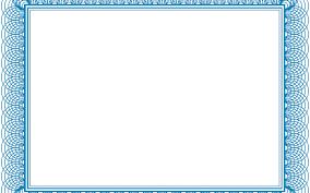 blank certificates blank certificates certificate template designs
