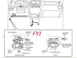 suzuki grand vitara engine diagram 2000 Suzuki Grand Vitara Wiring Diagram 2000 Suzuki Vitara Starting Diagram