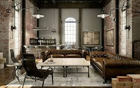Furniture in style Led Light Living Room Ideas Industrial Look Furniture