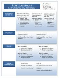 Resume Template Latest Resume Templates Free Download Free Career