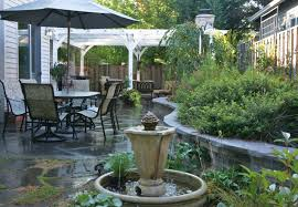 Small Picture Simple Patio Gardens Garden On Decorating Ideas