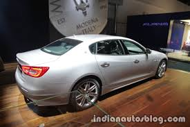 2018 maserati quattroporte. interesting 2018 2018 maserati quattroporte rear three quarters right at iaa 2017 to maserati quattroporte