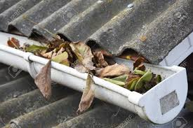 rain gutter cleaning from leaves in autumn clean your gutters before they out cleaning out gutters n15