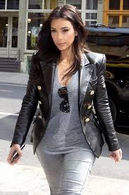 kim kardashian black blazer jacket