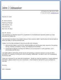 General Warehouse Worker Cover Letter - Sarahepps.com -