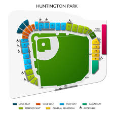 Huntington Park Seating Chart