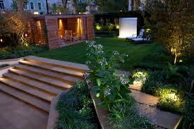 beautiful outside garden lights images landscaping ideas for