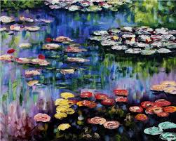 the water lily pond claude monet