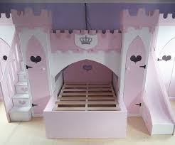 princess bunk beds with slide. Beautiful Princess Childrenu0027s Princess Castle Bunk Bed With Slide Stairs U0026 Wardrobes To Beds With Slide E