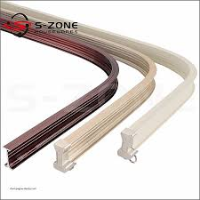 curved curtain track swish bay window curtain track unique garage sliding door track bending curved curtain
