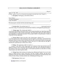 Property Purchase Agreement Template Cool Real Estate Purchase And Sale Agreement Template Sales Simple Depict