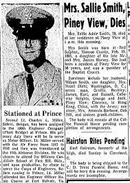 Sallie Smith Obit October 11, 1955 - Newspapers.com