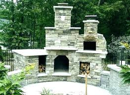 outdoor fireplace with pizza oven outdoor fireplace pizza oven combo plans cooking phoenix completed building fire