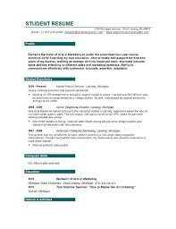 Resume Builder Student College Resume Builder Project Scope Template